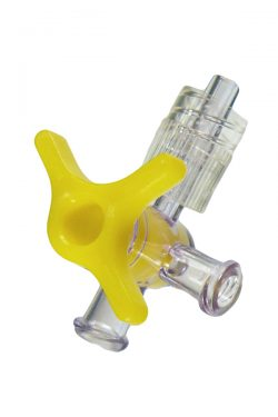 Image of ST-034 4-Way Stopcock with Rotating Luer